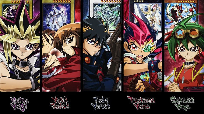best yugioh main characters