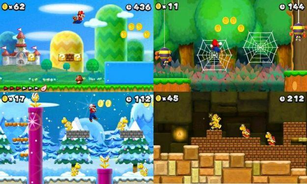 mario games 3ds
