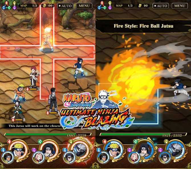 naruto ultimate ninja blazing gameplay