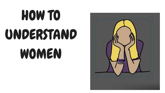 steps to understand woman