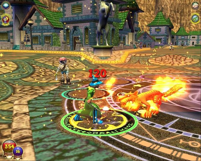 wizard 101 gameplay