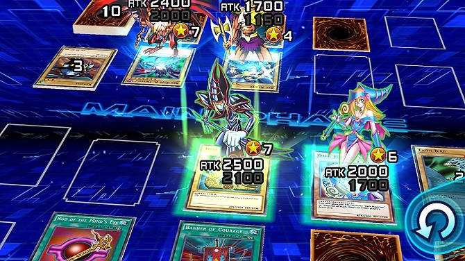 yugioh duel links gameplay