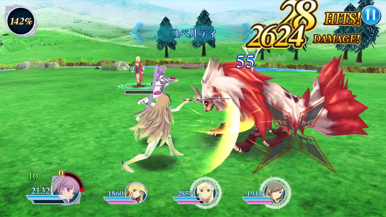 tales of the rays gameplay