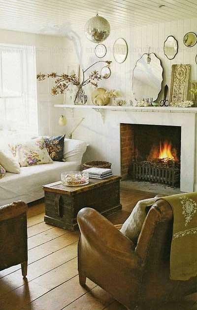 vintage living room
