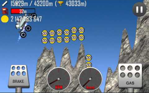 hill climb racing mountain