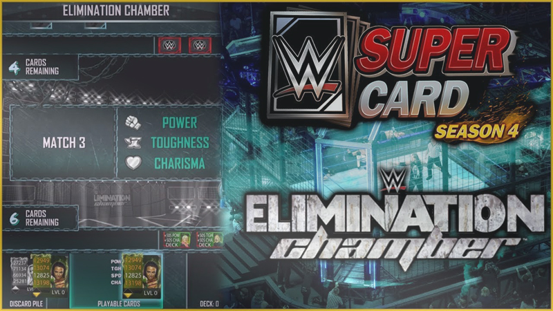 wwe supercard elimination chamber