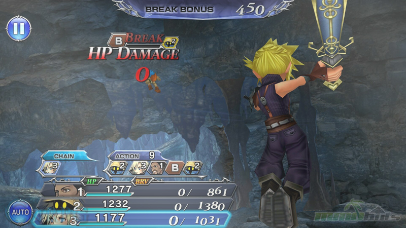 dissidia final fantasy opera omnia gameplay